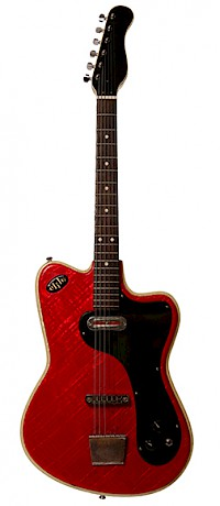 Crucianelli Elite guitar Front view