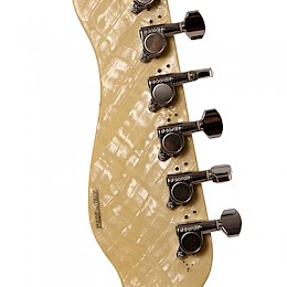 Crucianelli Elite guitar Neck Back view