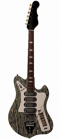 Welson guitar Marble Front view