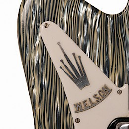 Welson guitar Marble Logo Close up