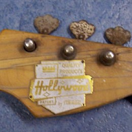 Meazzi Hollywood bass 2 - before restoration!