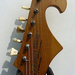 Harvey Thomas Lyer naturel Custom guitar 7