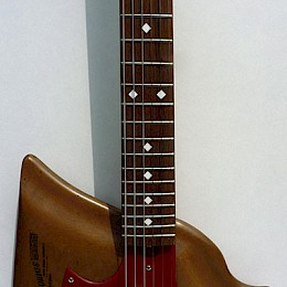 Harvey Thomas Lyer naturel Custom guitar 4