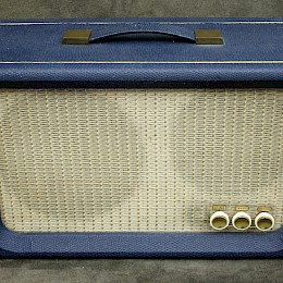 1960s Supravox guitar tube amplifier combo made in Italy 2