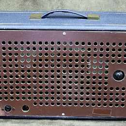 1960s Supravox guitar tube amplifier combo made in Italy 4
