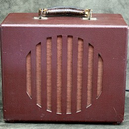 1950/60s RadioLori guitar tube amp combo made in Italy 2