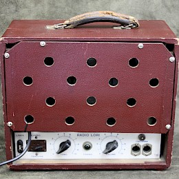 1950/60s RadioLori guitar tube amp combo made in Italy 3