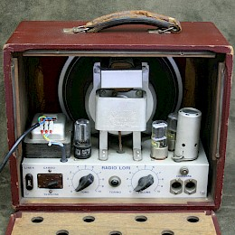 1950/60s RadioLori guitar tube amp combo made in Italy 4