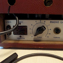 1950/60s RadioLori guitar tube amp combo made in Italy 7