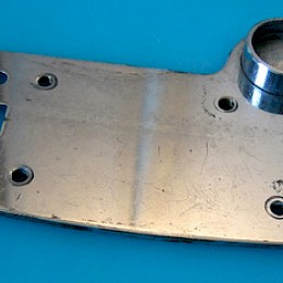 Eko guitar tremolo tailpiece backplate 1