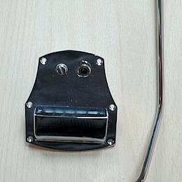 Schaller guitar tremolo tailpiece type:123 d