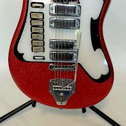 Alvaro Bartolini V4 Red guitar 5