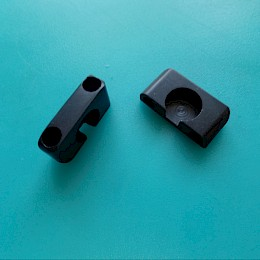 Eko guitar tremolo tailpiece anchor bushing replacement 1