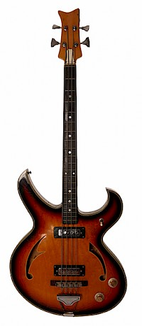 60s Japanese Teisco Firebird bass1