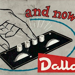 1960s Eko2 Ekomaster product flyer for Dallas Londen UK 1