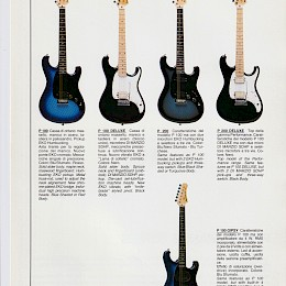 1980s Eko amplifier & guitar series product flyers catalog 17