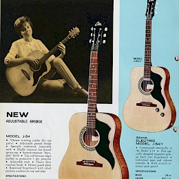 1960s Eko guitar & bass catalog made in Italy 14