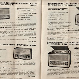 1963 64 Geloso radio's amps microphone product catalog Italian made in Italy 3