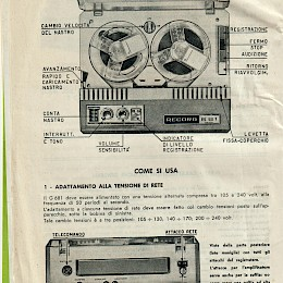 1964 Geloso technical bulletin catalog made in Italy 2