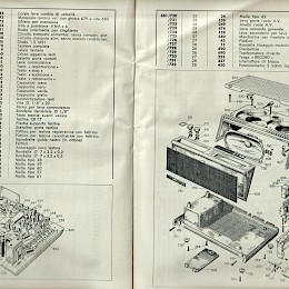 1964 Geloso technical bulletin catalog made in Italy 4
