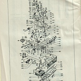 1964 Geloso technical bulletin catalog made in Italy 6