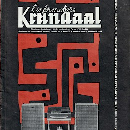 1964 Krundaal amps guitars basses microphes Wandre Polyphon Bikini product catalog 1