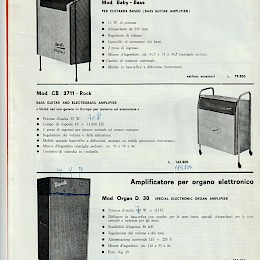 1964 Krundaal amps guitars basses microphes Wandre Polyphon Bikini product catalog 8