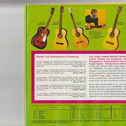 1976 Lindberg music instrument 'versandhaus' catalog accordeons guitars amps and more 19