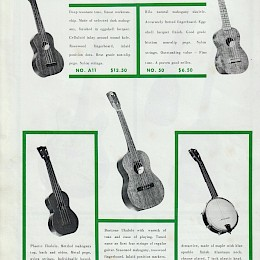 1970s Orpheus double side catalog page 2