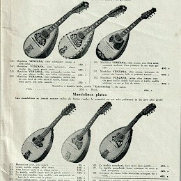 1940 - 50s Paul Beuscher full line musical instruments catalog 2