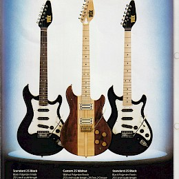 1980s Vox guitars folded brochure 5