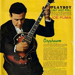 Orpheum (Welson) guitar magazine add for Maurice Lipsky  60s 2