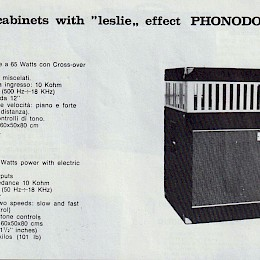 1960s Davoli Phonodoppler B60 3