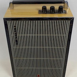 Vintage 70s Akkord-2 guitar combo amp made in USSR 2