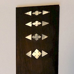Vintage 1950/60s GIMA guitar bass neck inlays, made in Germany1