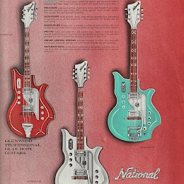 1964 National Electric guitars & amplifiers brochure, made in USA3