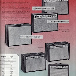 1964 National Electric guitars & amplifiers brochure, made in USA7