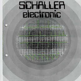 1980 Schaller Electronic Catalog made in Germany 34